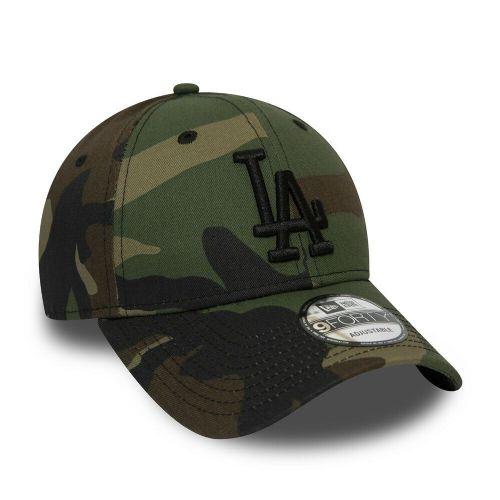 NEW ERA LA DODGERS BASEBALL CAP.9FORTY MLB COTTON ARMY CAMO ESSENTIAL HAT 9S2 4